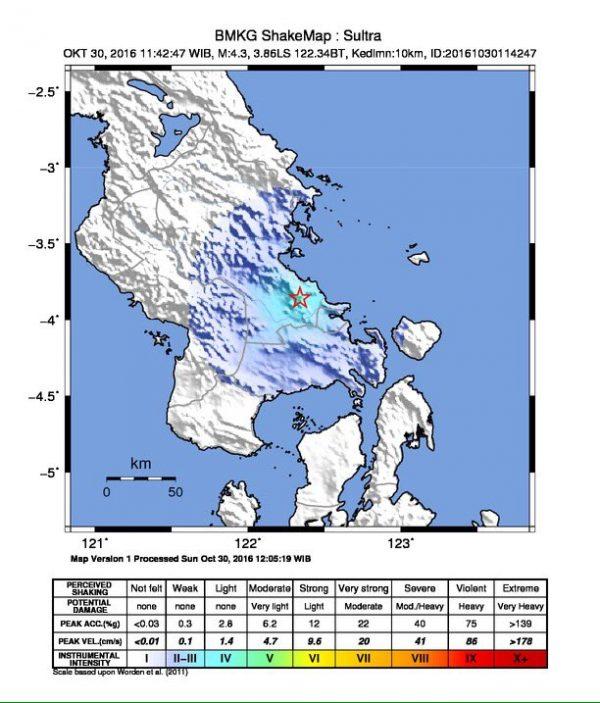 gempa Kendari