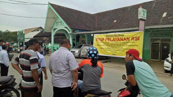 Rumah Sakit Islam Samarinda di Segel